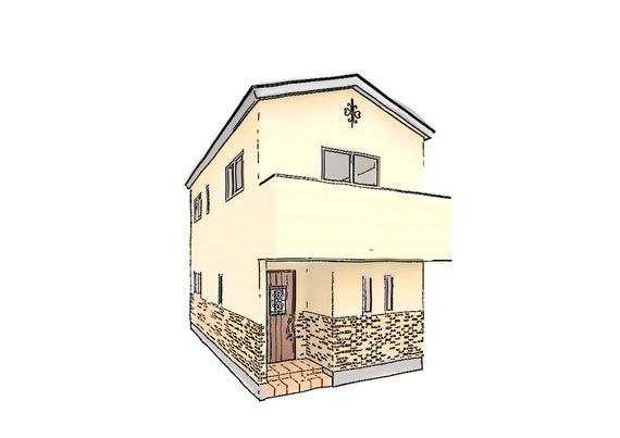 セザンヌやゴッホなどの絵画で有名なプロバンス地方の住宅をモチーフとした温かみのあるスタイル