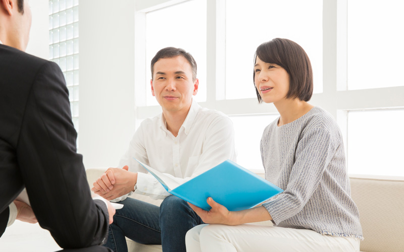 理由3 お客様の状況を詳しく把握し、金融機関に説明する